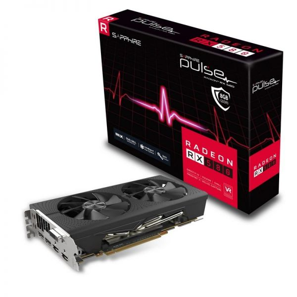 Sapphire Radeon RX580 8GB GDDR5 Pulse