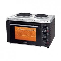 Sencor SEO 2028BK Electric Oven White & Black ha218