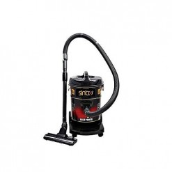 Sinbo SDV 9960 Drum Vacuum Cleaner 2000 Watts 25 Liters Black & Red