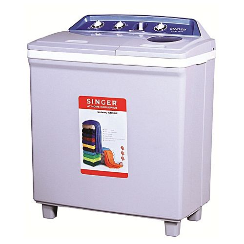 Singer 75TT Twin Tub Semi Automatic Washer White