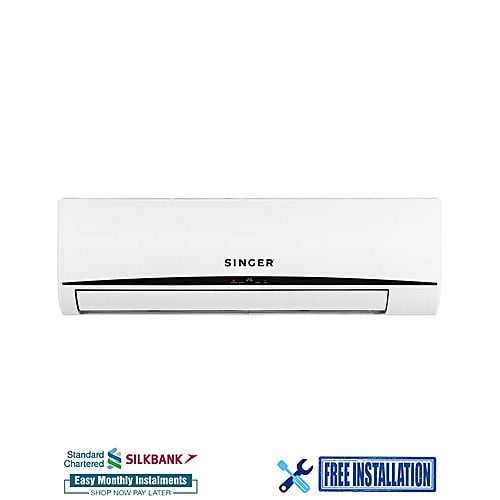 Singer SAC-12KDNV-SF – Inverter Series Air Conditioner – 1.0 Ton – White