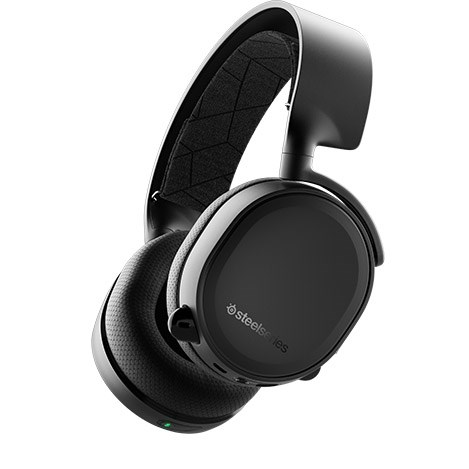 SteelSeries Arctis 3 Bluetooth All-Platform Gaming Headset for Nintendo Switch, PC, Playstation 4, Xbox One, VR, Android and iOS - Black - 61485