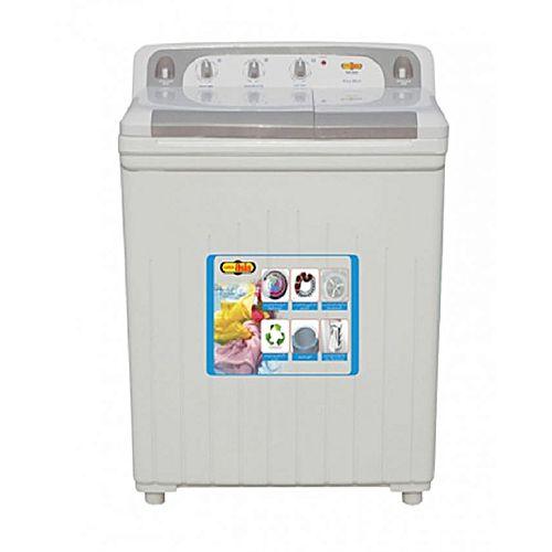 Super Asia SA245 Twin Tub Washing Machine White