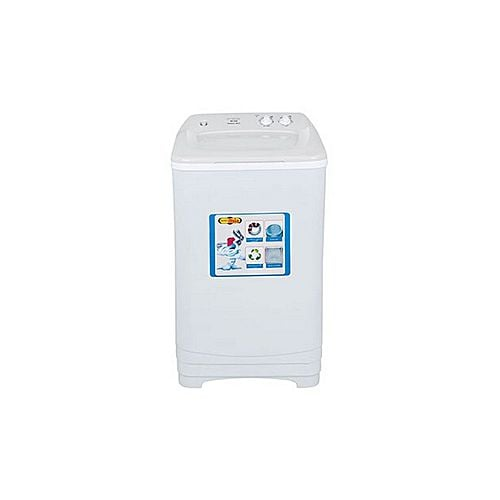 Super Asia SD540 Shower Spin Double Body Top Load Washer White