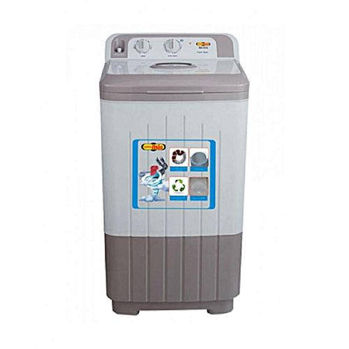 Super Asia SD570 Semi Automatic Spinner 10 Kg Grey