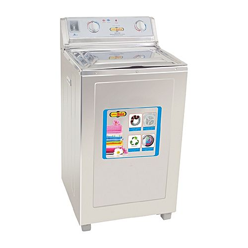 Super Asia Top Load Stainless Steel Washing Machine SAS 115 2 Years Warranty