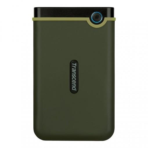 Transcend StoreJet® 25M3 1TB USB 3.0 Portable Hard Drive - TS1TSJ25M3G - Military Green (2-Year Warranty)