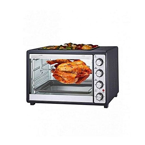 Westpoint Official WF4711RKCD Convection Rotisserie Oven With Kebab Grill 1800 W Black