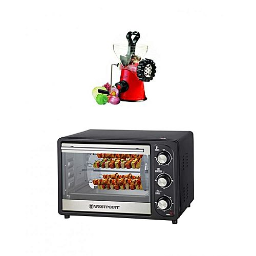 Westpoint Set of 2 WF2310 RK Rotisserie Oven & Kebab Grill with WF09 Handy Meat Mincer