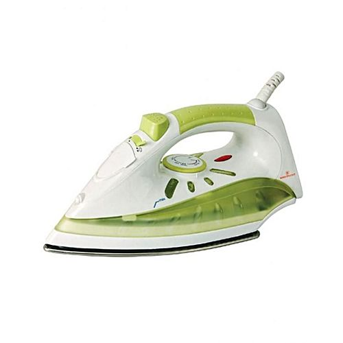 Westpoint WF-2021 Deluxe Steam Iron White & Green