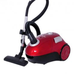 Westpoint WF-3602 Capsul Type Vacuum Cleaner with Steel Pipe Red