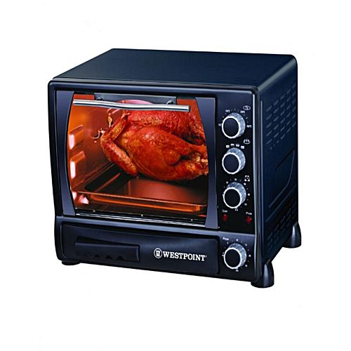 Westpoint WF3400 RP Deluxe Rotisserie Oven with Pizza Maker Black 1500 Watts