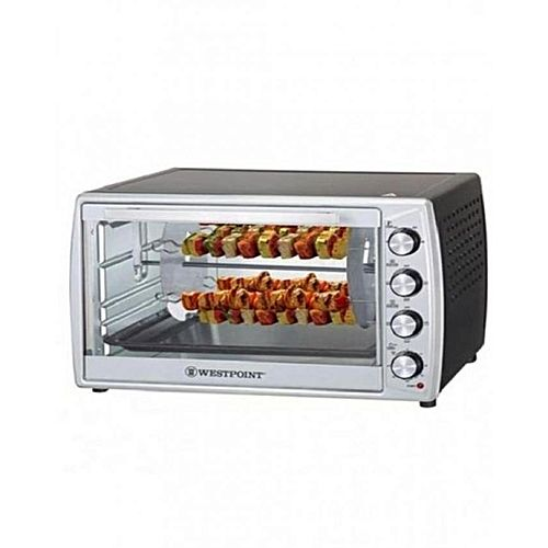 Westpoint WF6300 RKC Convection Rotisserie Oven with Kebab Grill 63 Liter Black