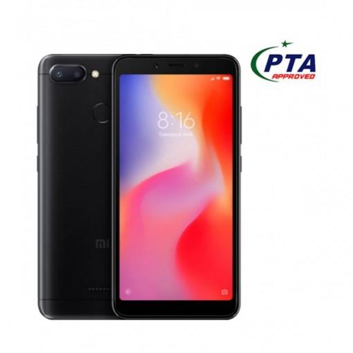 Xiaomi Redmi 6 64GB Dual Sim Black - Official Warranty