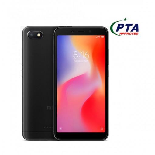 Xiaomi Redmi 6A 16GB Dual Sim Black - Official Warranty