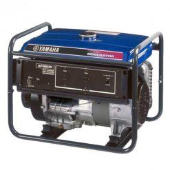 Yamaha 5.5 KVA Portable Petrol Generator EF6600M  Blue & Black