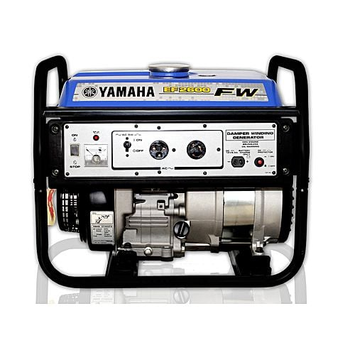 Yamaha EF2600FW – Portable Petrol Generator – 2.3 KVA – Blue (Brand Warranty)