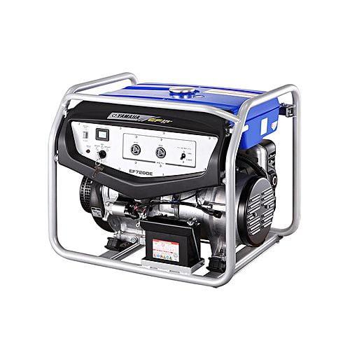 Yamaha EF7200E Portable Generator – 6 KVA – Blue – (Brand Warranty)