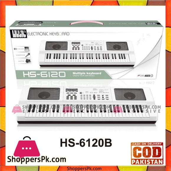 61 Key Plastic Electronic Piano Musical Keyboard