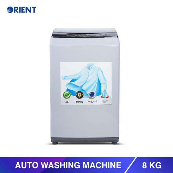 Orient Auto 8 Kg Super Grey Washing Machine - Karachi Only