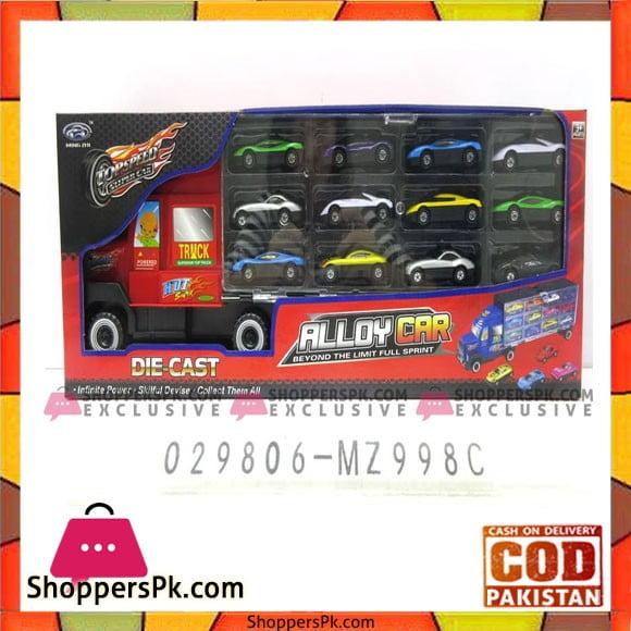 Top Speed Alloy Car Truck