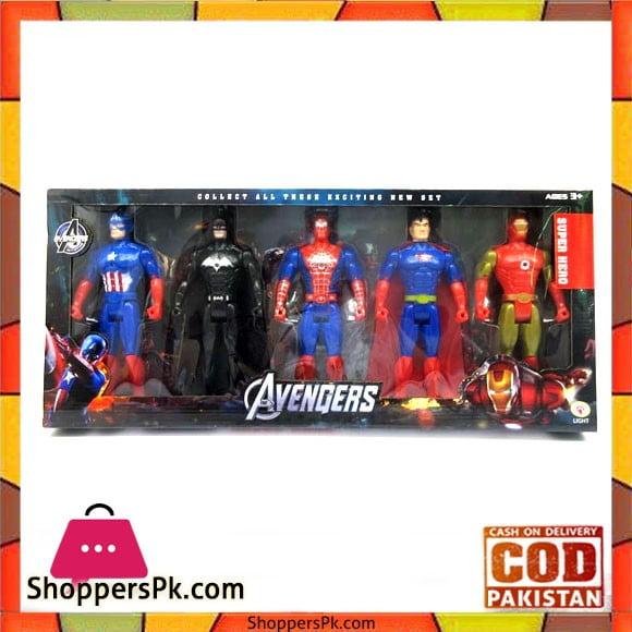 Avengers Action Figures 5 - Pcs