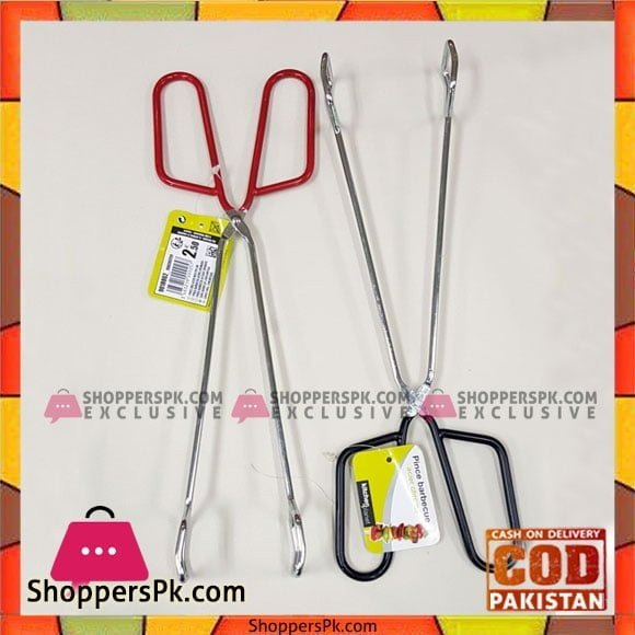 BBQ Cooking Bread Food Tongs Salad Kitchen Anti Heat Bread Clip Pastry Clamp Barbecue Tong