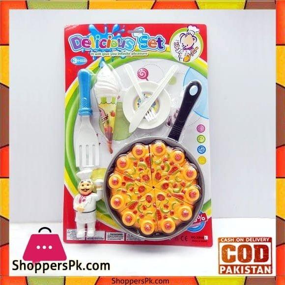 DIY Pizza Play Set