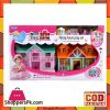 Doll House Funny Play Set Happy Homestead with Furniture (Plastic)