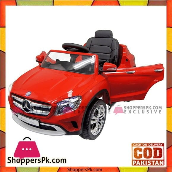 GetBest Mercedes Gla Class Licensed Battery Operated Ride On Car for Kids (Red)