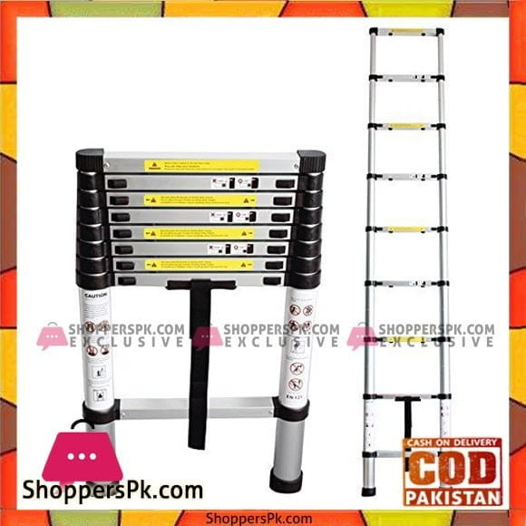 High Quality Aluminium Telescopic Ladder 2.9 Meter 9.5 Feet