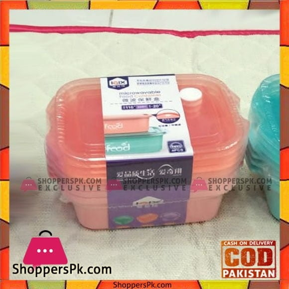 High Quality Lunch Box Set of 4