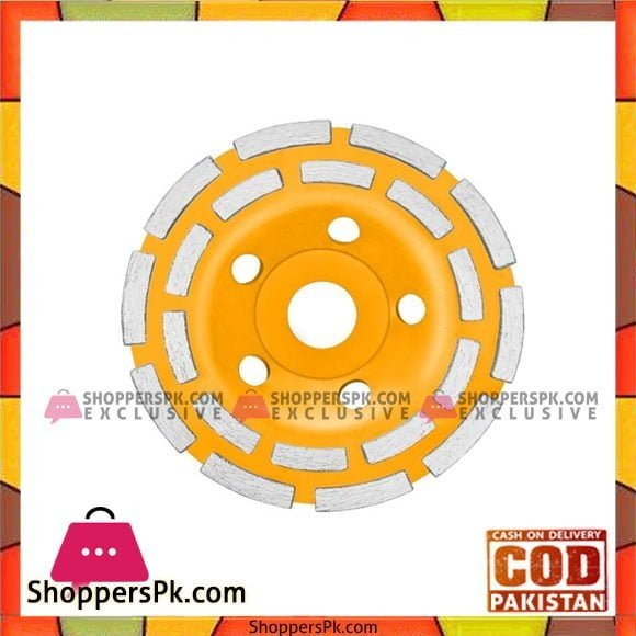 INGCO DOUBLE ROW CUP GRINDING WHEELS - CGW021151