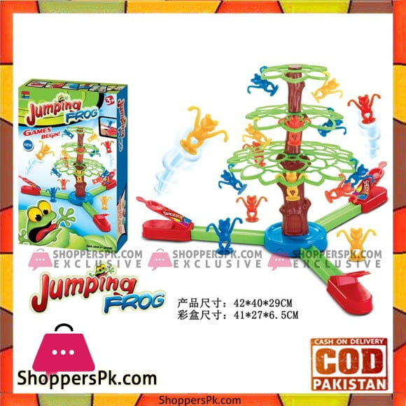Jumping Frog Game