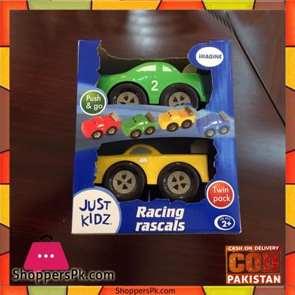 Just Kidz Racing Rascals Twin Pack Toy Car
