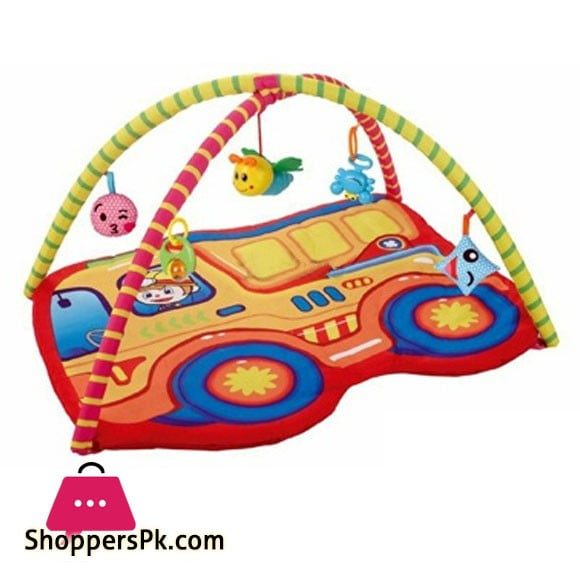 Kids Bus Play Mat Activity Gym