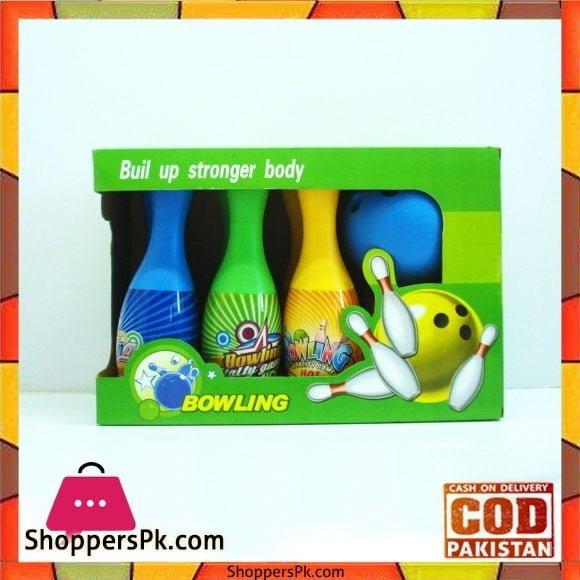 Kids Toy Plastic Indoor Sport Bowling Set