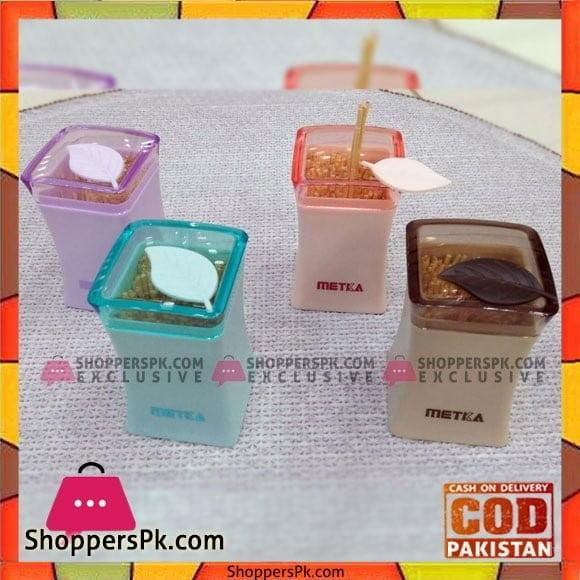 Metka Fiber Toothpick Bottle (with toothpick) Bamboo Fiber Plastic Toothpic