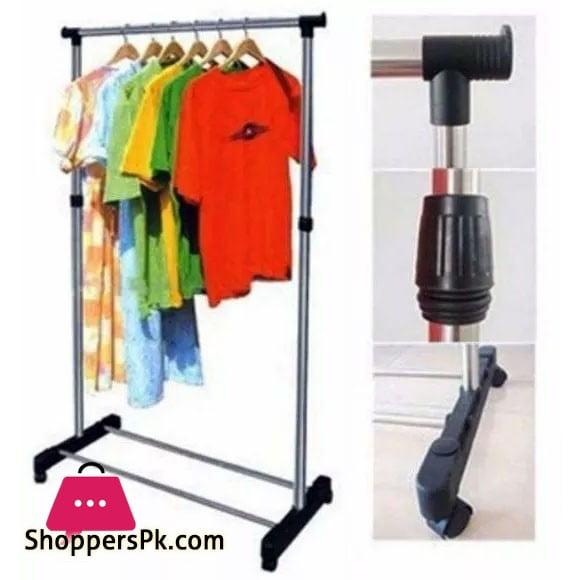 Single Pole Drying Rack Hanger