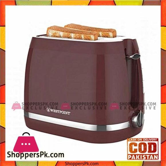 Westpoint WF-2589 - Deluxe 2 Slice Pop-Up Toaster - Karachi Only