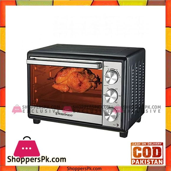 Westpoint WF-4200 Deluxe Rotisserie Oven with Kebab and Fish Grill - Karachi Only