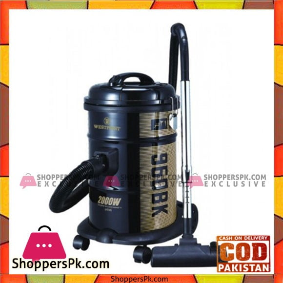 Westpoint WF-960 - Drum Type Vacuum Cleaner - Karachi Only