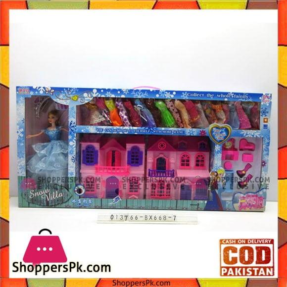 Barbie Snow Villa