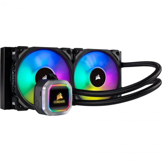 Corsair Hydro Series H100i RGB PLATINUM 240mm Liquid CPU Cooler CW-9060039-WW