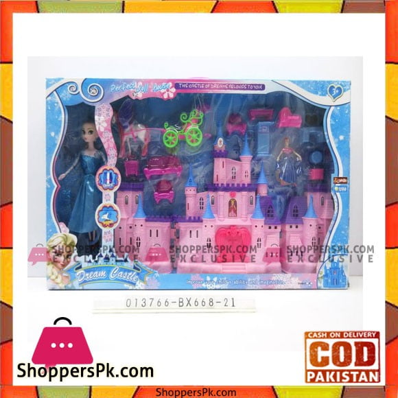 Frozen Dream Castle Doll House