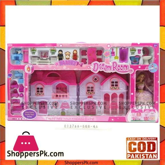 Barbie Theme Dream Room Play Set