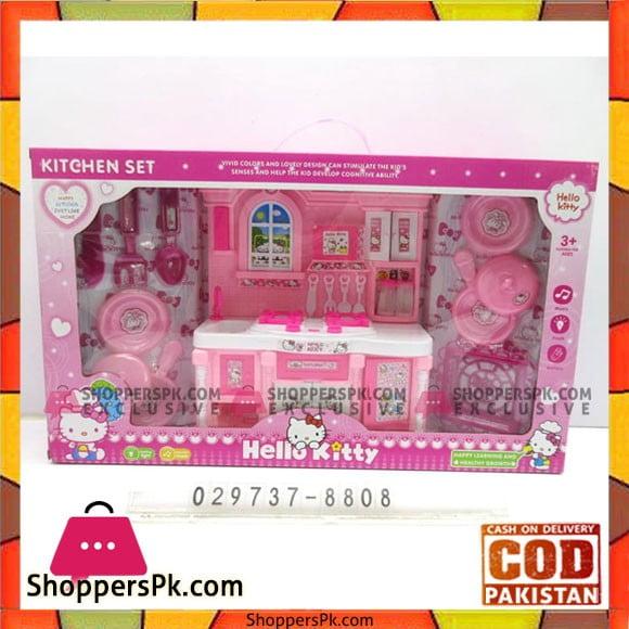 Barbie Kitchen Set Hello Kitty