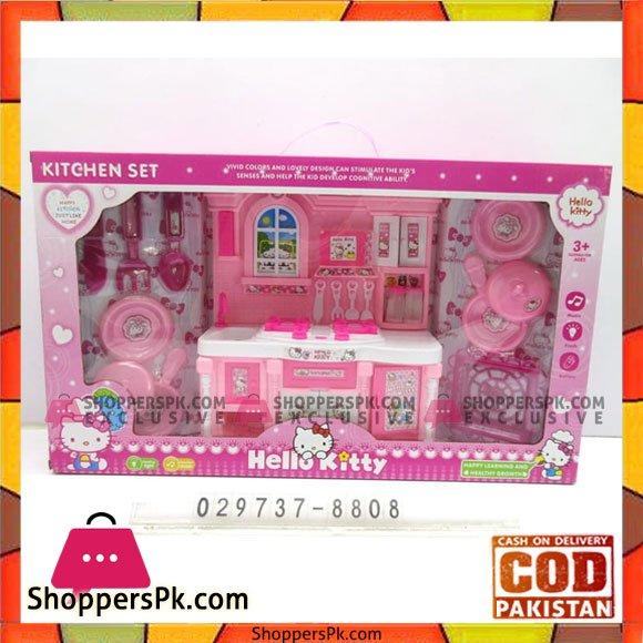 Buy Barbie Kitchen Set Hello Kitty At Best Price In Pakistan
