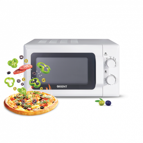 Orient Popcorn 20M Solo White Microwave Oven - Karachi Only