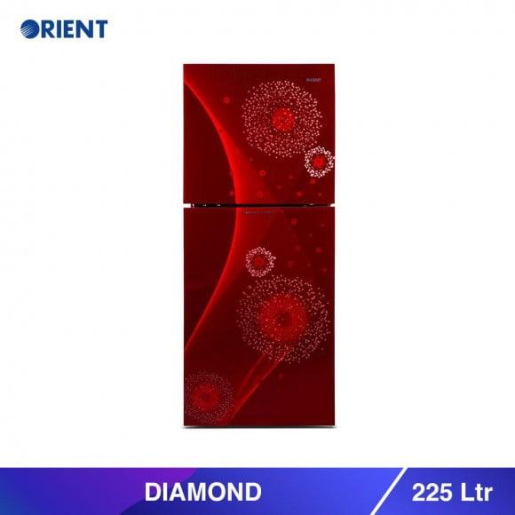 Orient Diamond 225 Liters Refrigerator - Karachi Only